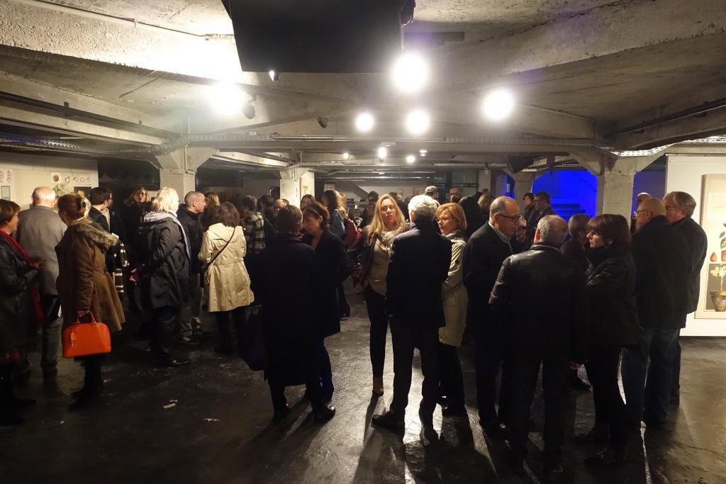 """Retour sur le vernissage de l'exposition """"Stéphane Hazera, regards croisés"""", le 13 mars 2017."""